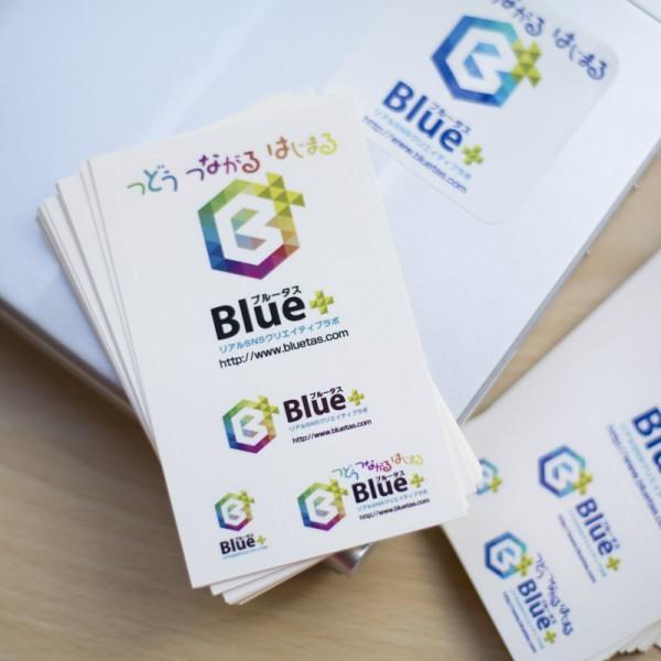 Blue+(ブルータス)オリジナルステッカー