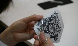 【イベント報告】切り絵の国からの贈り物